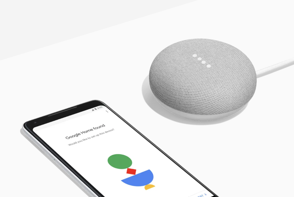 Google's home Mini