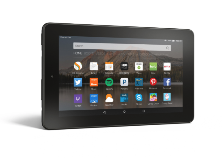 Amazon's Fire 7 tablet is a great budget buy for seniors