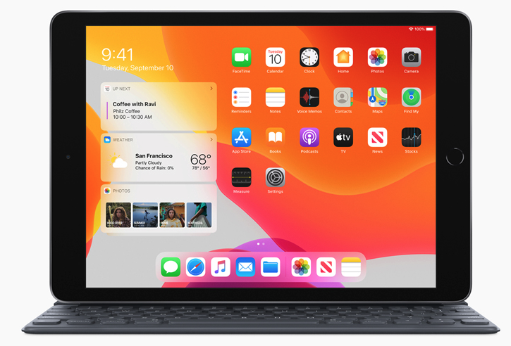 Apple's 10.2 iPad
