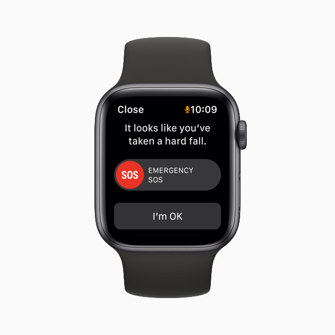 Apple Watch Fall Detection in action