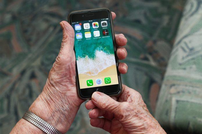 setup iphone for a senior